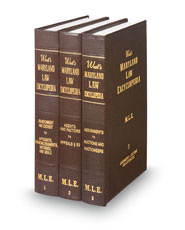 West's® Maryland Law Encyclopedia