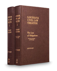 The Law of Obligations, 2d (Vols. 5 and 6, Louisiana Civil Law Treatise Series)