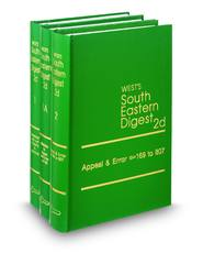 West's® South Eastern Digest®, 2d (Key Number Digest®)
