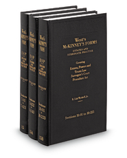 Estates and Surrogate Practice (West's® McKinney's® Forms for New York)
