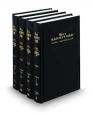 Criminal Procedure Law (West's® McKinney's® Forms)