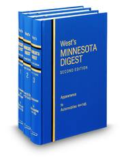West's® Minnesota Digest, 2d (Key Number Digest®)