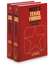 Business Entities (Vols. 8 & 8A, West's® Texas Forms)