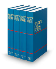 Wests Legal Forms D Th Th Legal Solutions - Legal form books
