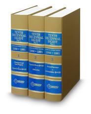Tenth Decennial Digest®, Part 1 (Key Number Digest®)