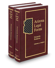 Domestic Relations, 3d (Vols. 4 and 4A, Arizona Legal Forms)