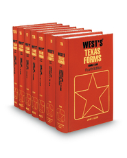 Family Law, 4th (Vols. 16-18A, West's® Texas Forms)