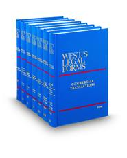 Commercial Transactions (Vols. 12 - 15, West's® Legal Forms)