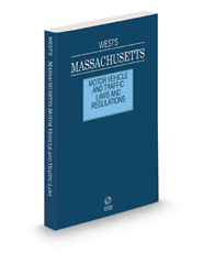 West's Massachusetts Motor Vehicle and Traffic Laws and Regulations, 2021 ed.