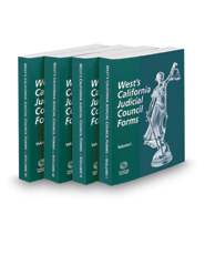 West's® California Judicial Council Forms, 2018-1 ed.