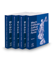 West's® California Judicial Council Forms, 2018-2 ed.