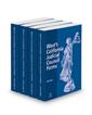 West's® California Judicial Council Forms, 2020-2 ed.