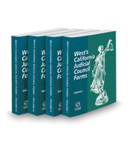 West's® California Judicial Council Forms, 2021-1 ed.