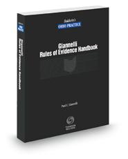 Rules of Evidence Handbook, 2020 ed. (Baldwin's Ohio Practice)