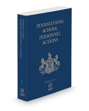 Pennsylvania School Personnel Actions, 2020-2021 ed.