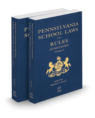 Pennsylvania School Laws & Rules Annotated, 2020-2021 ed.