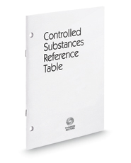 Ohio Controlled Substances Reference Table, 2017 ed.
