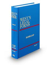 Elder Law, 3d (Vol. 18A, West's® Legal Forms)
