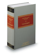 Arlidge Eady and Smith on Contempt, 5th (Common Law Library)