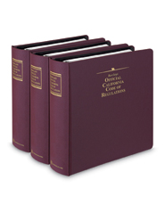 Barclays Official California Code of Regulations (CCR) Title 10 (Investment) - Complete Title