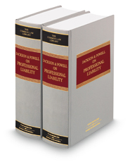 Jackson and Powell on Professional Liability, 8th  (Common Law Library)