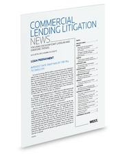Commercial Lending Litigation News