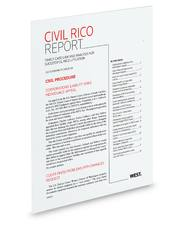 Civil RICO Report