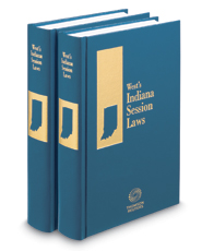 Indiana Session Laws, 2017 ed.