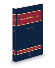 General Index, 2020-2021 ed. (Colorado Practice Series)