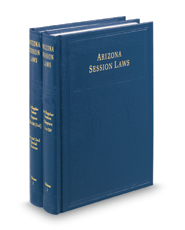 Arizona Session Laws, 2016 ed.