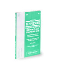 West's® Tennessee Legislative Service