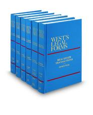 Real Estate Transactions, 3d (Vols. 19-23, West's® Legal Forms)