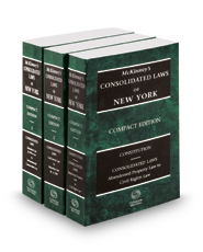 McKinney's Consolidated Laws of New York, 2017 compact ed.