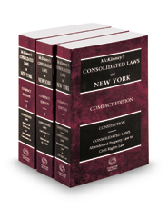 McKinney's Consolidated Laws of New York, 2018 compact ed.