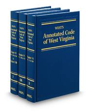 West's® Annotated Code of West Virginia (Annotated Statute and Code Series)