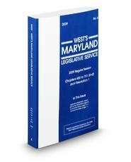 West's® Maryland Legislative Service