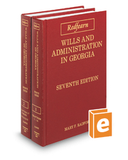 Redfearn Wills and Administration in Georgia, 7th