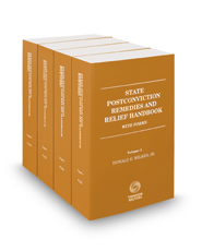 State Postconviction Remedies and Relief Handbook with Forms, 2016-2017 ed.
