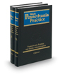 Probate and Estate Administration with Forms, 5th (Vols. 19 and 19A, West's® Pennsylvania Practice)