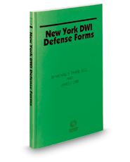 New York DWI Defense Forms, 2018 ed.