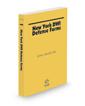 New York DWI Defense Forms, 2021 ed.