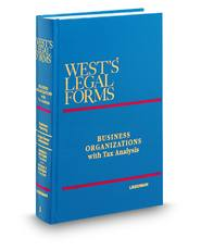 Business Organizations (Vols. 1 - 6B, West's® Legal Forms)