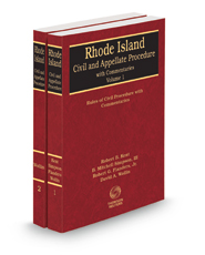 Rhode Island Civil and Appellate Procedure with Commentaries, 2020-2021 ed.
