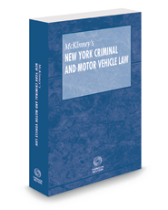 McKinney's New York Criminal and Motor Vehicle Law, 2016 ed.