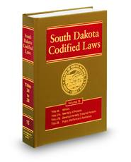 South Dakota Codified Laws (Annotated Statute & Code Series)