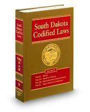 South Dakota Codified Laws (Annotated Statute & Code Series)