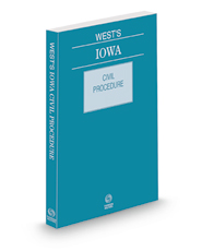 West's Iowa Civil Procedure, 2021 ed.