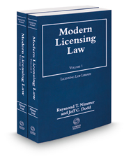 Modern Licensing Law, 2018-2019 ed.