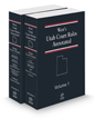West's® Utah Court Rules Annotated, 2021 ed.