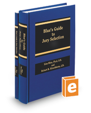 Blue's Guide to Jury Selection (AAJ Press)